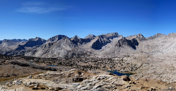 Great Western Divide from Upper Kern Basin
