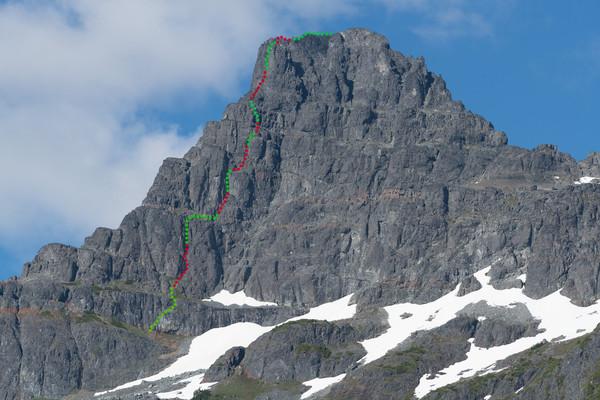 Summit or Plummet Route