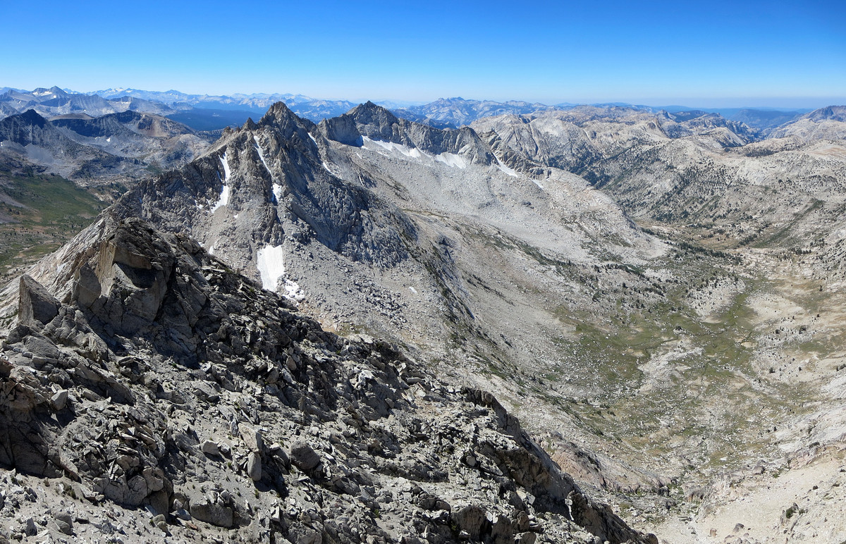 Sawtooth Loop Matterhorn Peak Finger Peaks Kettle