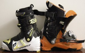 Dynafit TLT 5 Performance and Scarpa Maestrale