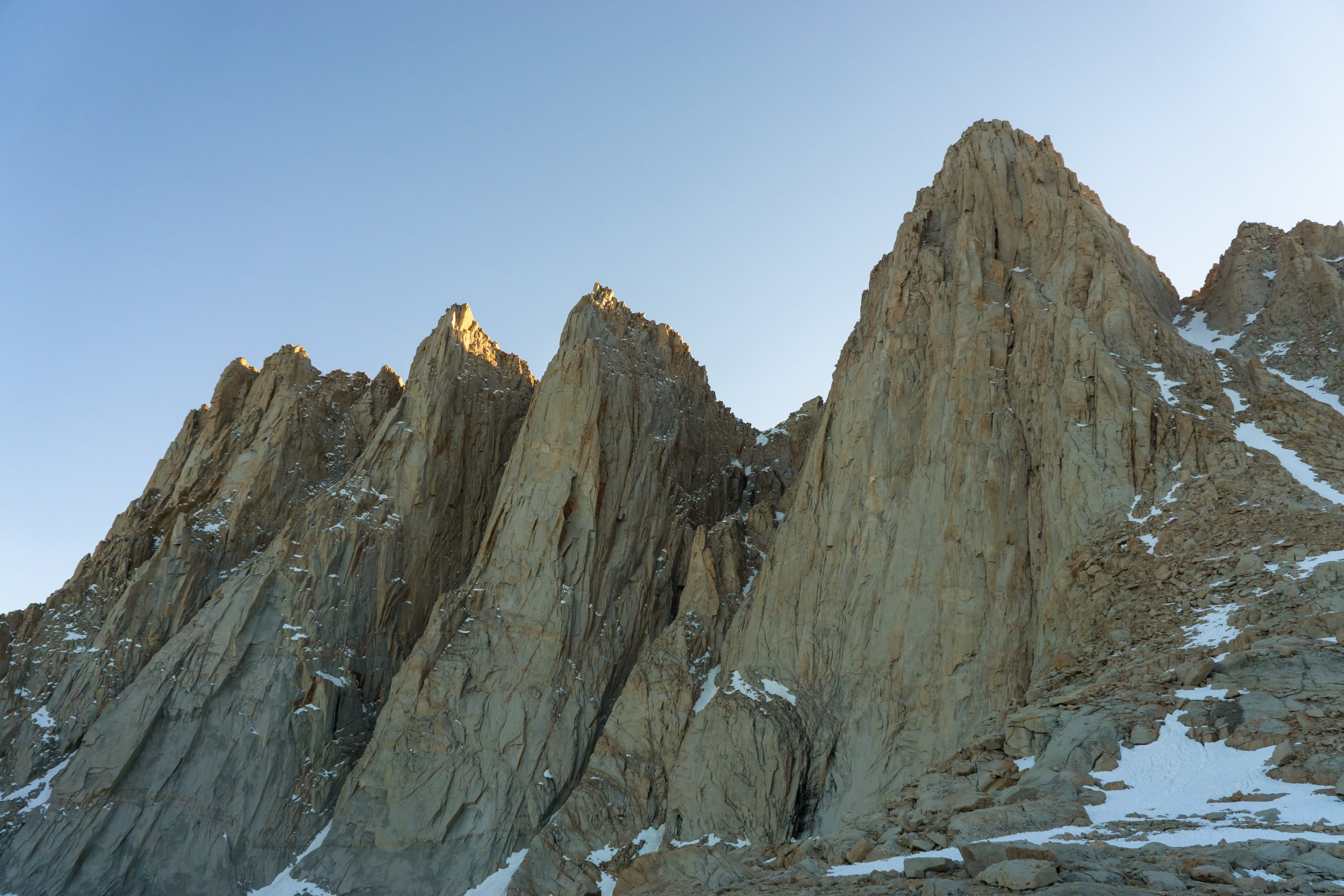 The pinnacles and needles are just amazing to witness!